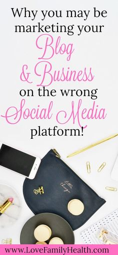 Why you may be marketing your business on the wrong Social Media Platform. #blogging