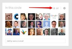 How to Fine Tune Your Google+ Circles: Google Plus circle view settings