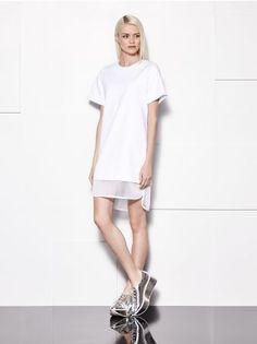 MOHITO - Sukienka z łączonych materiałów