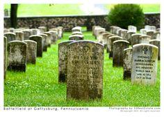 Battlefield Cemetery at Gettysburg
