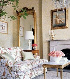 interieur ideen im französischen landhausstil - 50 tolle designs, Wohnzimmer dekoo