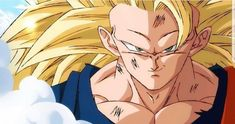 Goku Super Saiyan 3 in the new art style Dbz, Gohan And Goten, Dragon Ball Z, Super Vegeta, Super Saiyan, Dragonball Art, Ssj3, Epic Characters, Z Arts