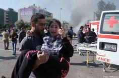 Libano, attentato kamikaze a sud di Beirut: cinque morti e ottanta feriti