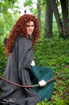 Gorgeous Adult Merida Cape from Brave. $80.00, via Etsy.