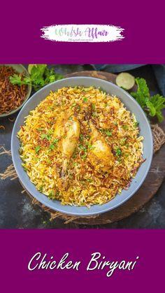 Puri Recipes, Pakora Recipes, Veg Recipes, Indian Food Recipes, Chicken Biryani Recipe Video, Spicy Chicken Recipes, Chicken Biryani Recipe Hyderabadi, Chicken Byriani Recipe, Biryani Rice Recipe