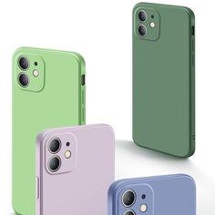 Square Liquid Silicone Phone Case