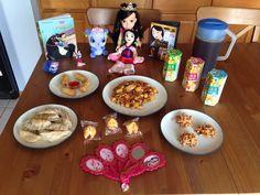 Mulan Dinner - Fa Mulan's Grilled Chicken Teriyaki, Li Shang's Egg Rolls, The Emperor's Dumplings, Mushu's Fortune Cookies, Matchmaker Tea, Khan's Koala Cookies and Cri-Kee's Chow Mein Cookies - Mulan Movie Night - Disney Movie Night - Family Movie Night