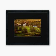 Centerpiece Decorations, Custom Boxes, Framed Art Prints, Warm, Sunset, Artist, Photos, Painting, Image