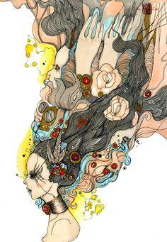 Lunar Showcase of Inspiration: Illustrator and Concept Artist Olivia Rose