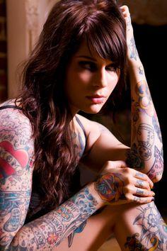 . #Tattoos #RedHead #RedHair, #Girls #Gorgeous #MaryLeighMaxwell