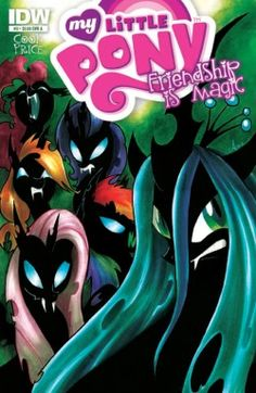 My Little Pony: Friendship is Magic A-cover IDW comics