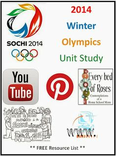 Where to find Winter Olympic stuff  Every Bed of Roses: Winter Olympics 2014 Unit Study Resources