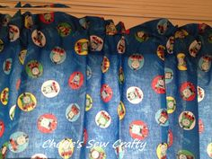 Thomas the Tank Engine and Friends Window by CheriesSewCrafty, $16.99