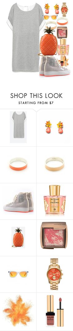 """""""Pineapple Express II"""" by e-dphillips ❤ liked on Polyvore featuring Zara, Ruco Line, Acqua di Parma, Valentino and Hourglass Cosmetics"""