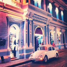 we did see a lot of Volkswagen in Merida, Mexico!!! who's on for a Punch Buggy game!?