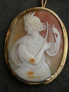 Orpheus, in the act of looking over his shoulder, and thus losing Euridyce.
