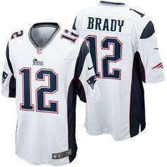 Mens New England Patriots Tom Brady Nike White Elite Jersey 641d51f8f8fd4