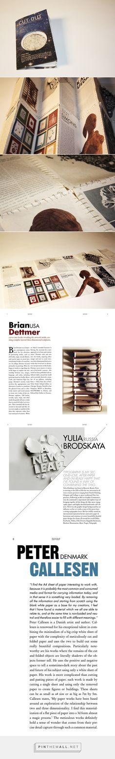 CUT-OUT | craft & design magazine on Behance