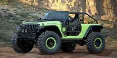 The Jeep Wrangler Trailcat and six other concepts will debut at the annual Jeep festival.​​​