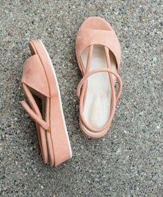 Anne Thomas Peach Ginza Sandal