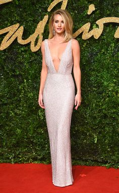 Rosie Huntington-Whiteley from 2015 British Fashion Awards Red Carpet Arrivals | E! Online
