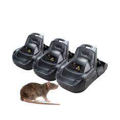 1//3X Reusable Rat Trap Easy Catching Mice Mouse Mousetrap Spring Rodent Catcher