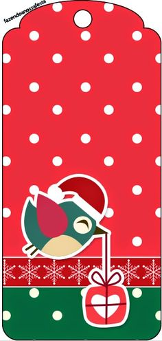 Christmas Birds: Free Party Printables. | Oh My Fiesta! in english