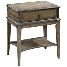Uttermost Hanford Accent Table - #3F883   LampsPlus.com