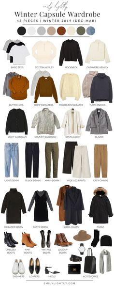 May 11, 2020 - In this article I'm sharing my winter capsule wardrobe featuring pieces from ethical and sustainable brands as well as plenty of outfit ideas. Capsule Outfits, Fashion Capsule, Mode Outfits, Winter Outfits, Fashion Outfits, Travel Outfits, Capsule Clothing, Ootd Winter, Casual Winter
