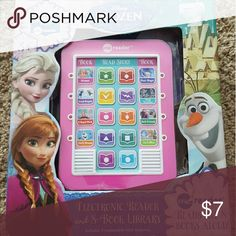 Frozen books and electronic book e-reader IN BOX Other