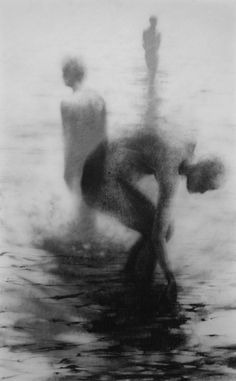 Haunting Figure Drawing // Moody Dark