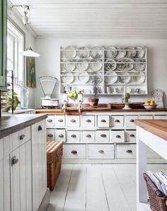 101 mejores imágenes de Cocina Vintage   Cuisine vintage, Kitchens y ...