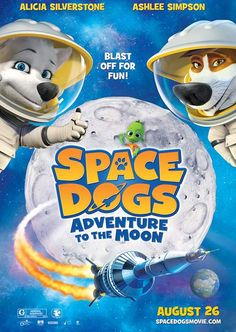 Space Dogs Adventure to the Moon (2016) Full Movie