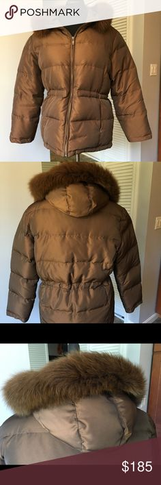 🌺🌼 1 Madison Puffer Jacket- size XL🌺🌼 Awesome authentic 1 Madison Puffer Jacket with real fur trim. Length 29 inches - arm pit to arm pit 24inches. Draw string waist . Inner pocket. Fleece lining. Down and feather fill see photo. Lovely warm winter jacket . 1 Madison Jackets & Coats Puffers