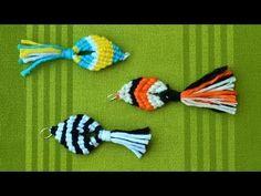 Easy Macrame Fish / Pesce, Pescado, Poisson, Peixe, Ikan, Fisch, Рыба, Ryba, 魚