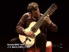 Paulo Martelli plays J.S.Bach : Sonata n.1 BWV 1001 for violin solo (com...