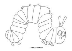 hungry caterpillar coloring pages Eric Carle, Coloring Pages For Kids, Coloring Sheets, Toddler Crafts, Crafts For Kids, Very Hungry Caterpillar, Activity Sheets, Tot School, Book Projects