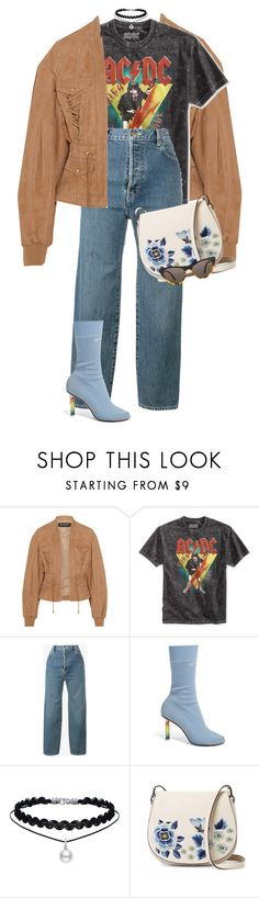 """""""HI WORD"""" by celsoromera ❤ liked on Polyvore featuring Balmain, Bioworld, Vetements, French Connection and Prism"""