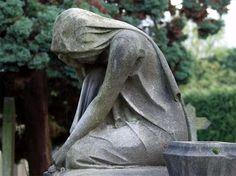 Cemetary statue