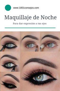 Diferentes estilos para lucir bellísima de noche!  Maquillaje Ojos | Maquillaje de Noche | Maquillaje Ahumado