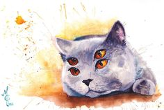 I Paint Animals From My Dreams In Watercolour