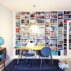 Her skal vi bygge og her skal vi bo: DIY bokhylle - til tv-stua