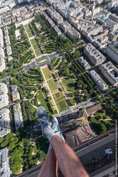 From the Eiffel Tower - 84 Illegal Photographs That Urban Climbers Risked Their Lives To Take