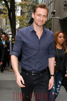 He can get it. Always. Anywhere. {Style Double Shot: Tom Hiddleston | Tom & Lorenzo Fabulous & Opinionated}