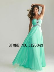 Online Shop Free Shipping 2014 Hot Selling Real Sample Chiffon Sweetheart Beading Long Eveninig Dress Cheap Prom Dress Under $ 50|Aliexpress Mobile