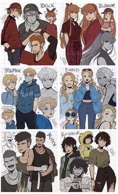 Cartoon As Anime, Cartoon Shows, Cartoon Art, Character Design Animation, Character Art, Super Power Girl, Power Puff Girls Z, Super Nana, Dibujos Cute