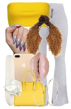 A fashion look from August 2017 featuring yellow top, petite pants and puma sandals. Browse and shop related looks. Lit Outfits, Cute Swag Outfits, Teen Fashion Outfits, Dope Outfits, Summer Outfits, Teenager Outfits, Fashion Killa, Everyday Outfits, Polyvore Outfits