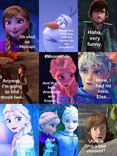 Part 4, jelsa's date... And Hiccup....