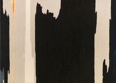 Clyfford Still PH-1123, 1954, oil on canvas, 114 x 155 in., in New York, New York. Clyfford Still Museum Denver.