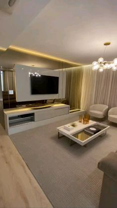 Living Room Partition Design, Living Room Tv Unit Designs, Ceiling Design Living Room, Decor Home Living Room, Room Design Bedroom, Home Room Design, Room Decor, Small House Interior Design, Hall Interior
